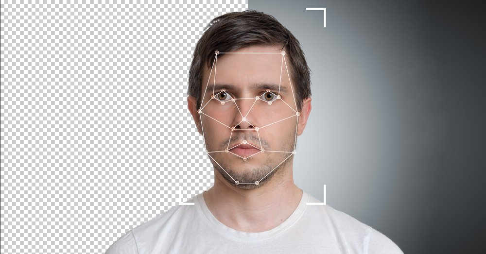 Portrait segmentation and background removal to eliminate manual design work